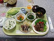 お祝い食の一例 毎月数回行事の度に豪華なお食事が出ます